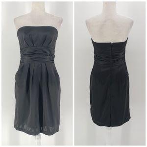 David's Bridal black short sleeveless dress Sz 8